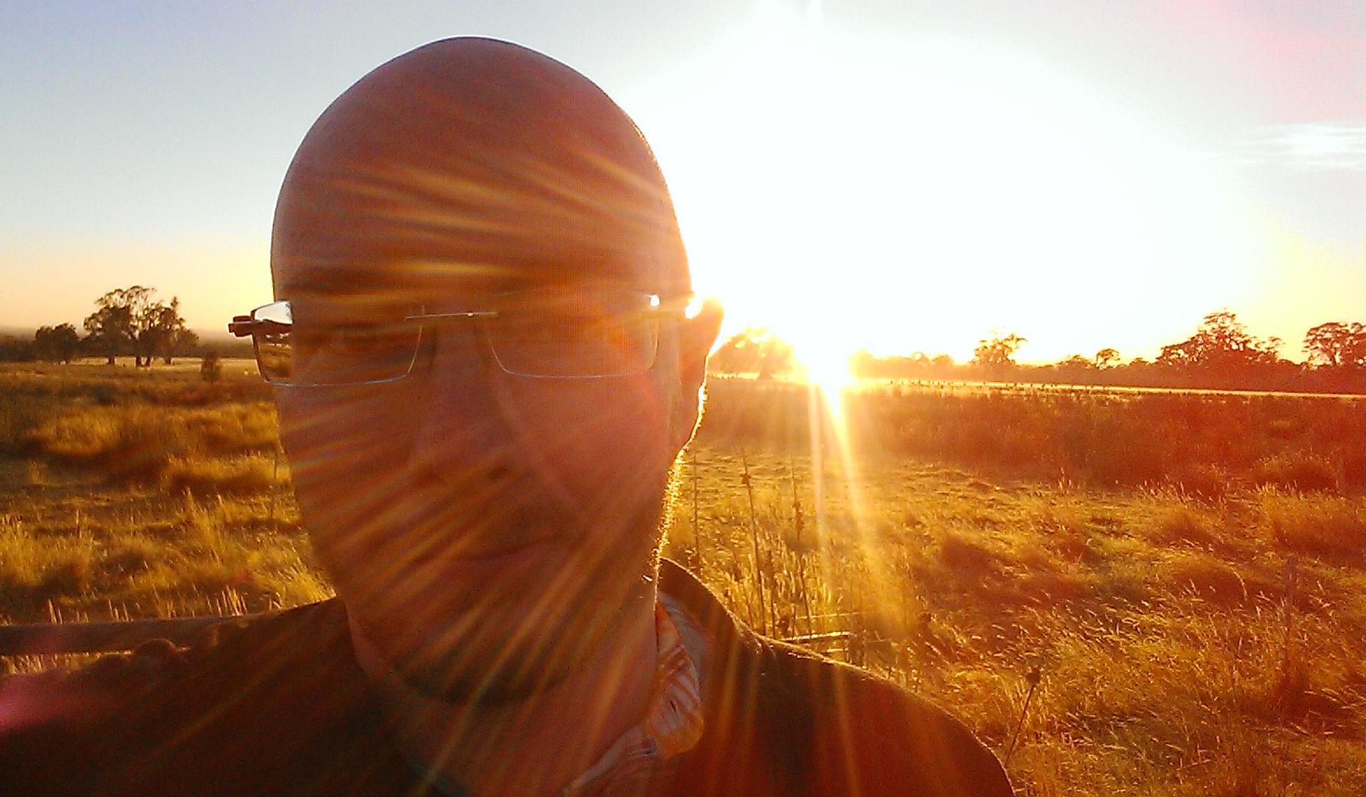 Sunrise Selfie BN