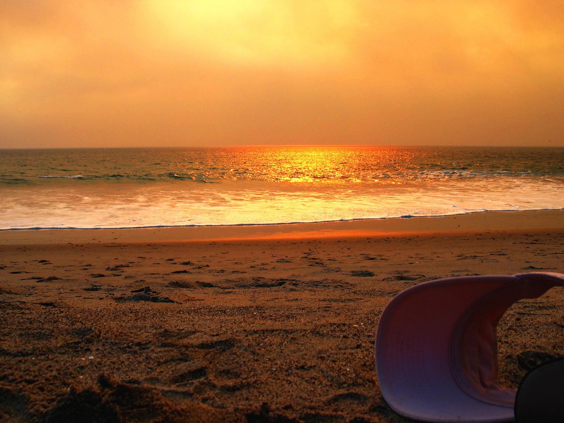 Sunset Hat