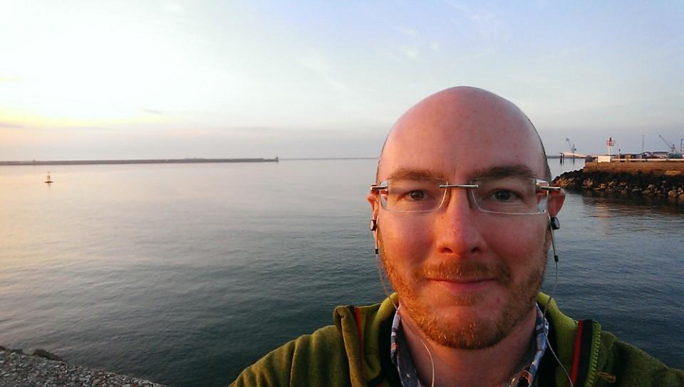 Geoff in Cherbourg