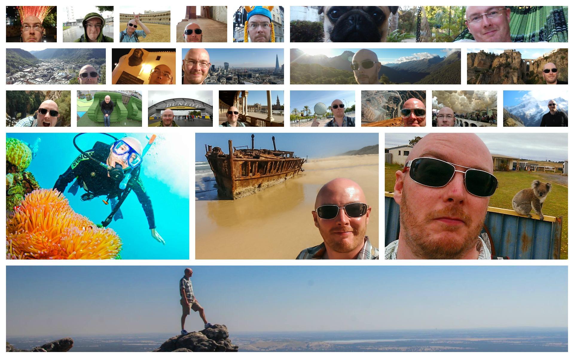 PicMonkey Selfie Collage
