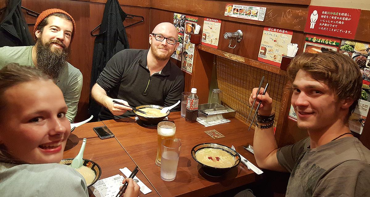 Ichiran Ramen in Nagoya